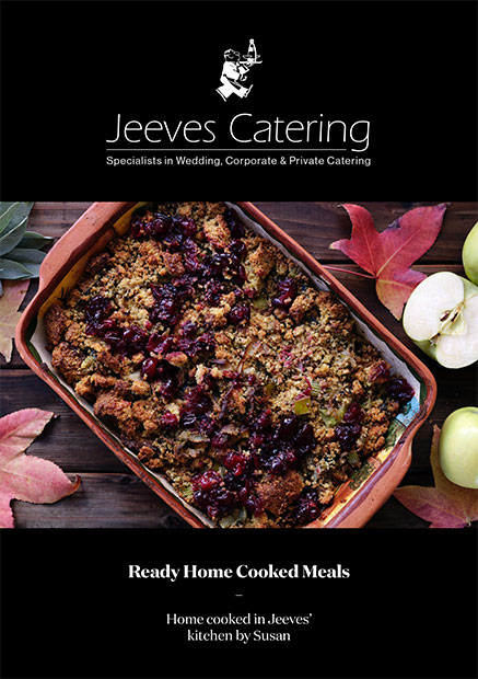 Jeeves Ready Home Cooked Meals Brochure